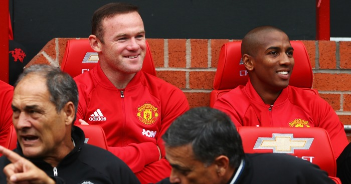 Wayne Rooney: Set for another afternoon on the United bench