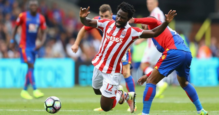 Wilfried Bony: Striker yet to score for Stoke