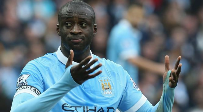 Yaya Toure: Left out of Man City's CL squad