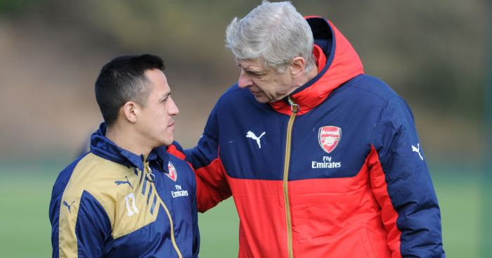 Alexis Sanchez: Arsene Wenger hoping he'll stay