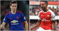 Ander Herrera, Theo Walcott: Statistical hero and zero