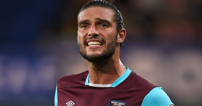 Andy Carroll: Still on sidelines for West Ham