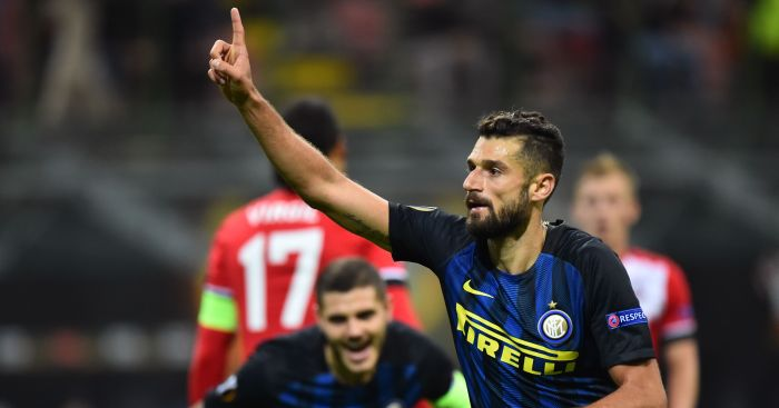 Antonio Candreva: Chelsea bid rejected