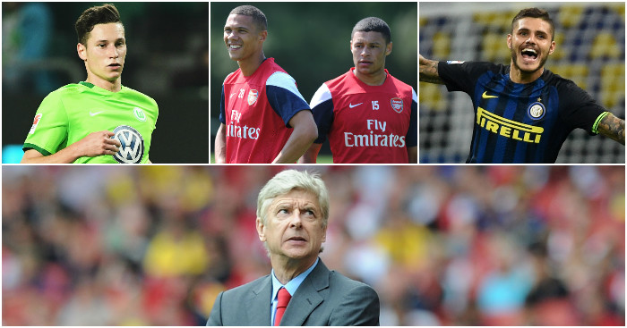 Arsene Wenger: Could reshape squad in january