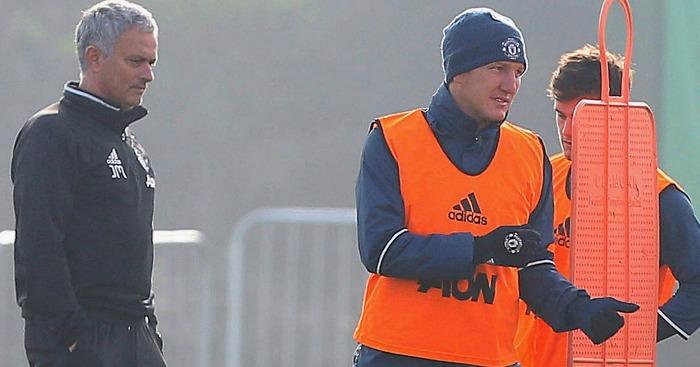 Bastian Schweinsteiger Jose Mourinho Manchester United
