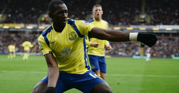 Bolasie celebrates Everton