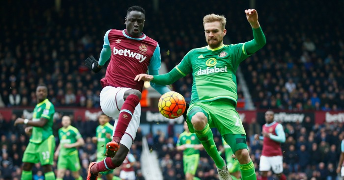 Cheikhou Kouyate: Tussles with Jan Kirchhoff