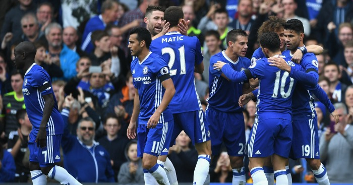 Chelsea: Eased to a 3-0 win