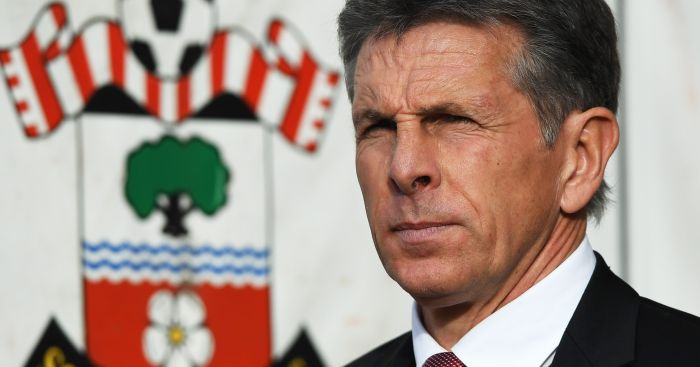 Claude Puel: Happy with Saints set-up