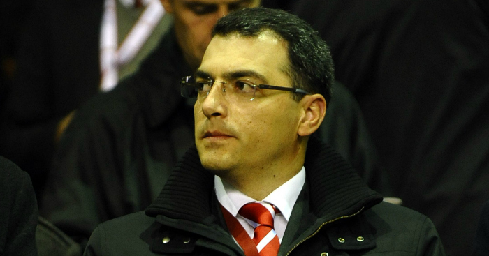 Damien Comolli: Believes he was sacked due to Henderson signing