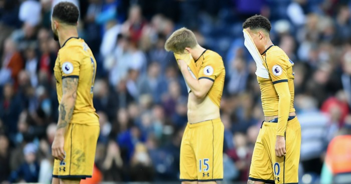 Dele Alli: Shows disappointment at full-time