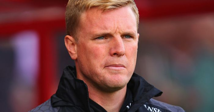 Eddie Howe: Pleased with response against Liverpool