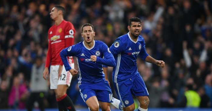 Eden Hazard: Forward celebrates second-half strike