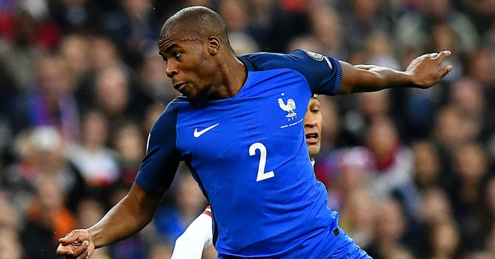 Djibril Sidibe: In action for France