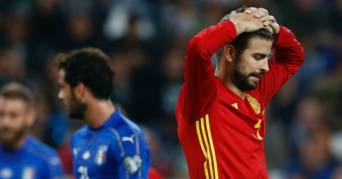 Gerard Pique: Defender unpopular among some fans