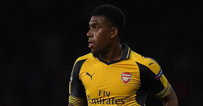 Alex Iwobi: Impressing after Arsenal breakthrough