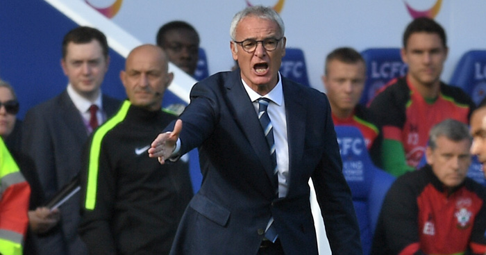 Claudio Ranieri: Admits Leicester got lucky against Saints
