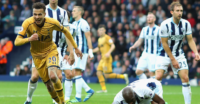 Dele Alli: Struck late to steal point for Spurs