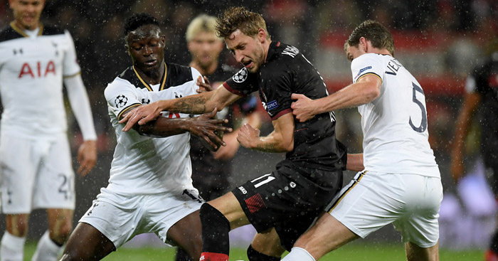 Victor Wanyama: Impressive display for Tottenham