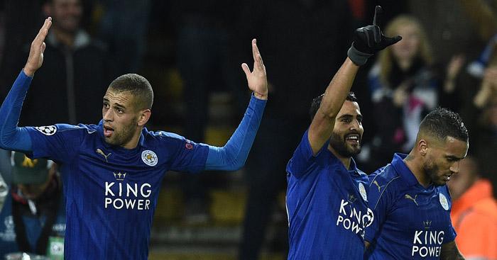 Riyad Mahrez: Leicester's matchwinner once again