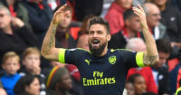 Olivier Giroud: Wary of discussing Arsenal title chances