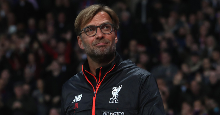 Jurgen Klopp: Insists defenders retain his confidence