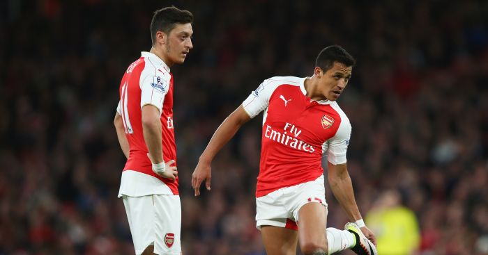 Mesut Ozil & Alexis Sanchez: Contracts expire in 2018