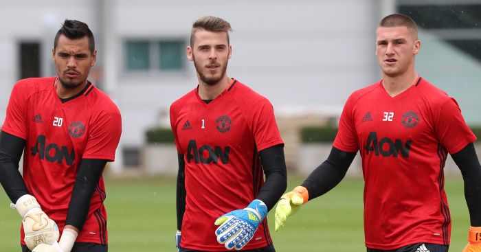 Sam Johnstone: Third in United pecking order