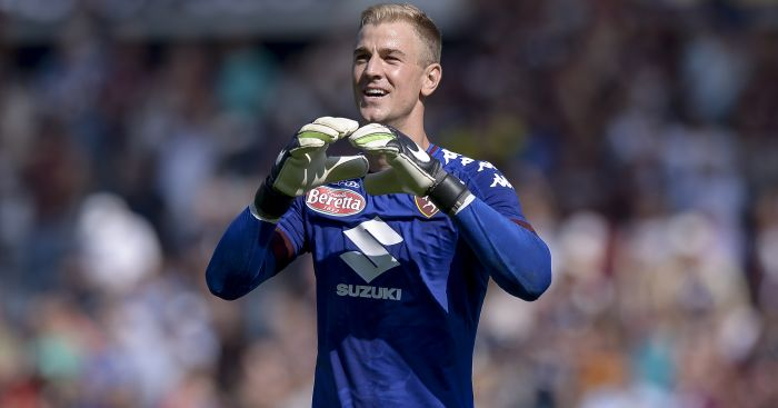 Joe Hart: Is enjoying life away from Manchester City