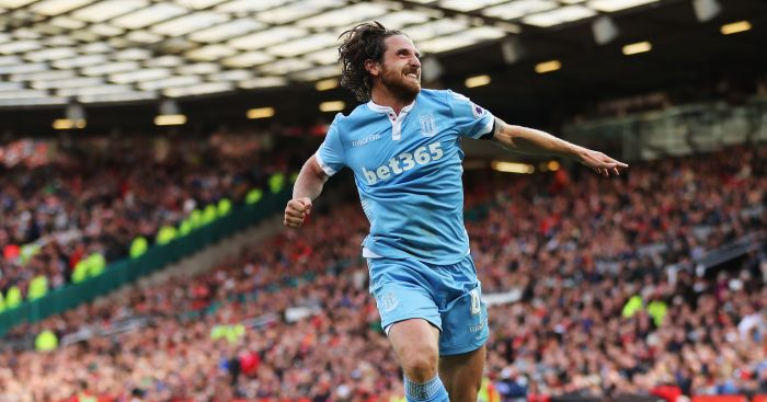 Joe Allen: Big hit at Stoke
