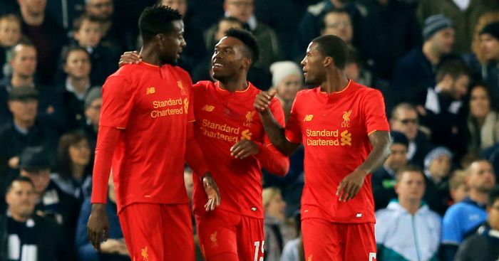 Daniel Sturridge: 10 goals in eight League Cup apps