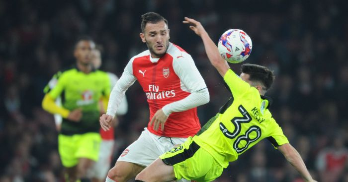 Lucas Perez: Will be out until at least mid-December