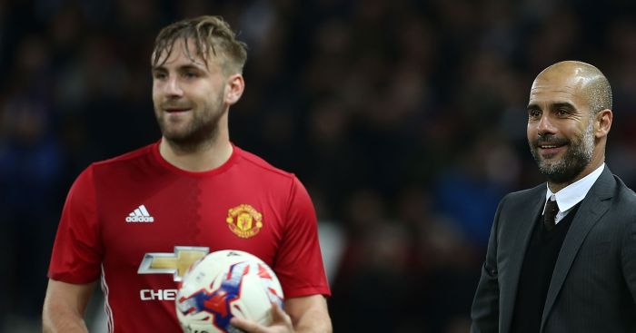 Luke Shaw: Started for United in the derby win over City