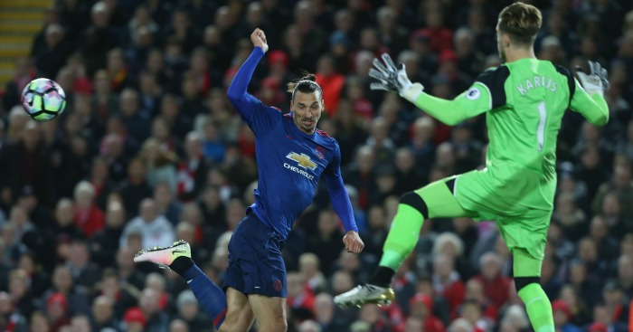 Zlatan Ibrahimovic: Striker fluffed his chance against Karius