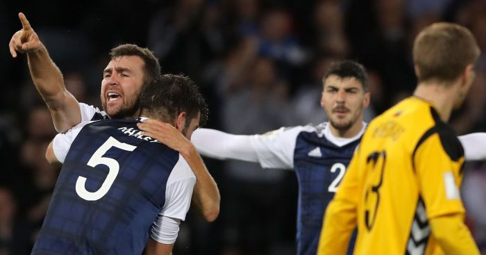 James McArthur: Comes to Scotland's rescue