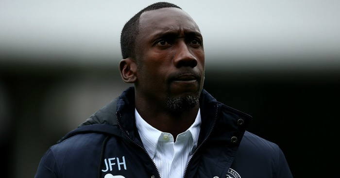 Jimmy Floyd Hasselbaink: Reminded of his responsibilities