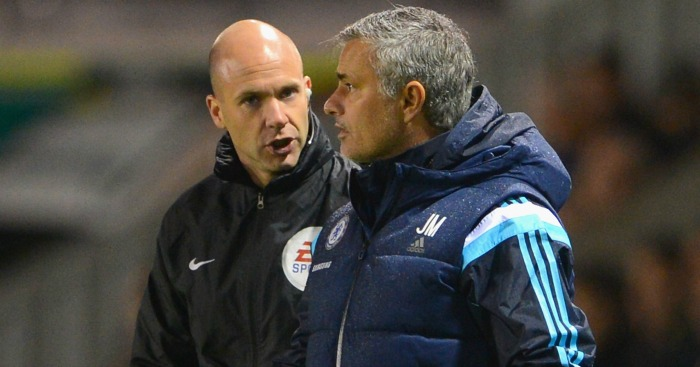 Jose Mourinho: Supportive of 'very good official' Taylor