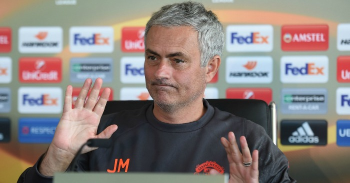 Jose Mourinho: Taken a swipe at LvG