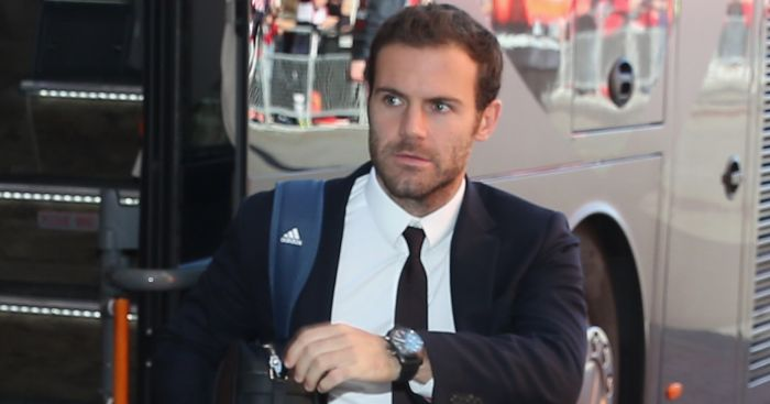 Juan Mata: Takes time out for United fan