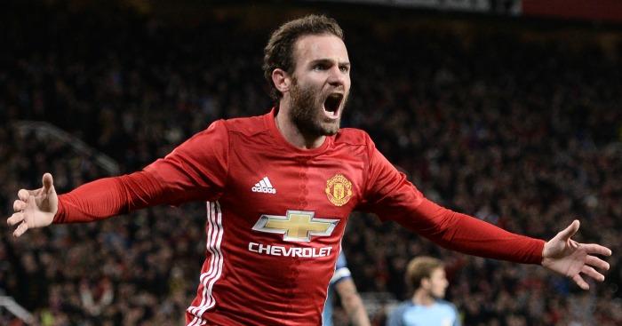 Juan Mata: Scores winner as United progress