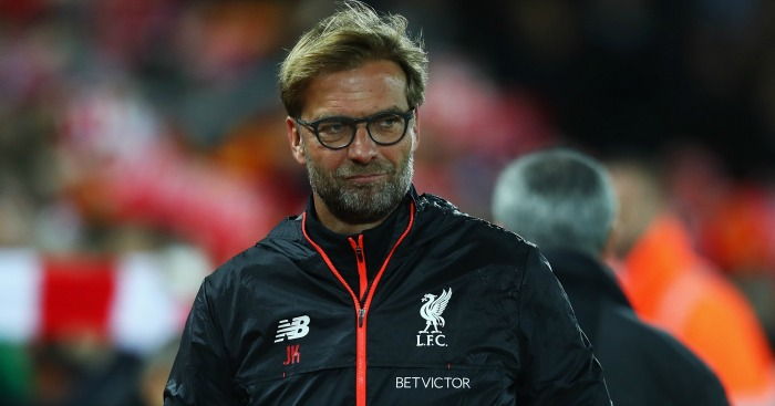 Jurgen Klopp: Unhappy with Liverpool performance