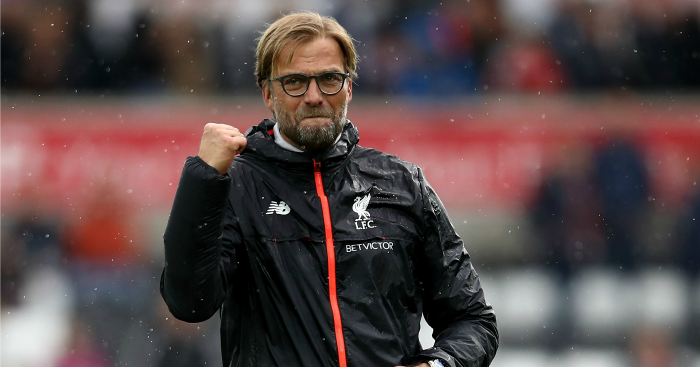 Jurgen Klopp: Top boss in September