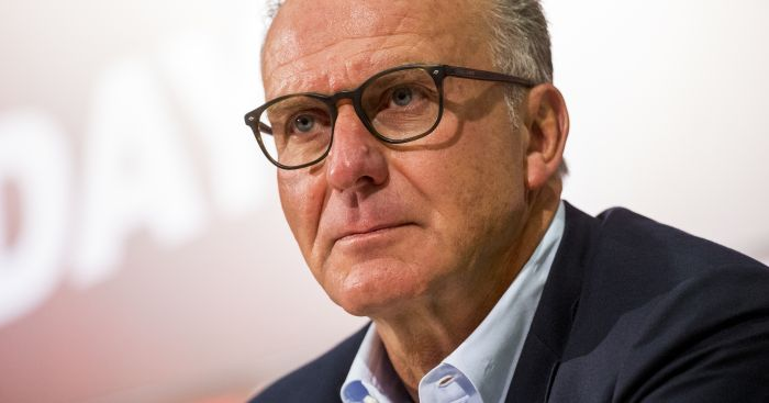 Karl-Heinz Rummenigge: Takes pop at English clubs