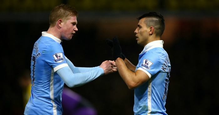 Kevin de Bruyne & Sergio Aguero: Duo up for top gong