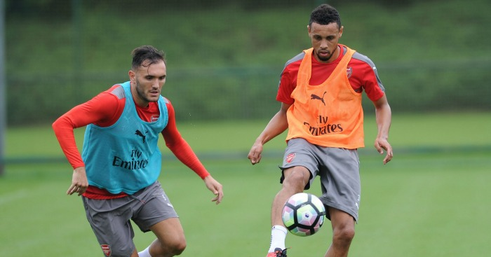 Lucas Perez & Francis Coquelin: Duo sideline recently