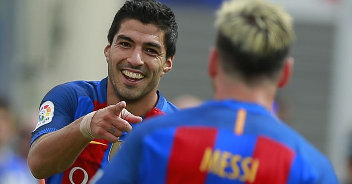 Luis Suarez: Linked with £135m move