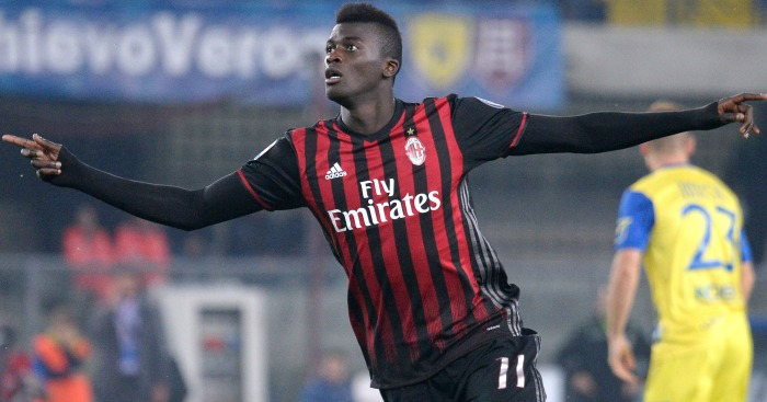 M'Baye Niang: Wanted by Man Utd