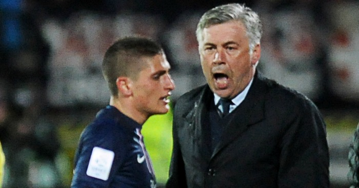 Marco Verratti: Enjoyed playing for Carlo Ancelotti