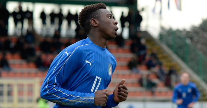 Moise Kean: Attracting Premier League interest