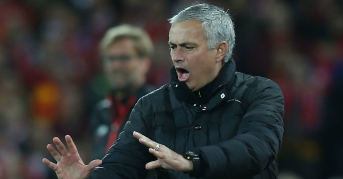 Jose Mourinho: Takes a swipe at Liverpool